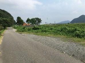 糸魚川市上刈 土地の外観