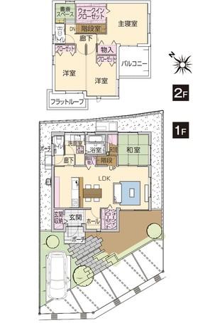 【ダイワハウス】まちなかジーヴォ秋津町 (分譲住宅)の外観