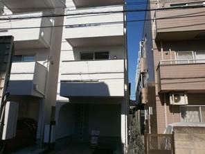 大田区仲六郷の家の外観