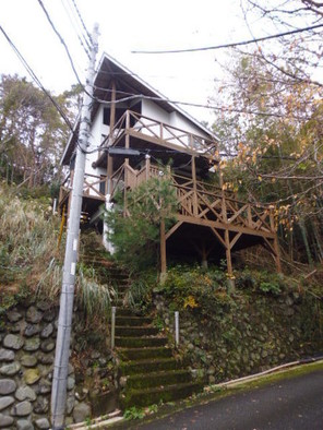 桜坂温泉別荘地 中古別荘の外観