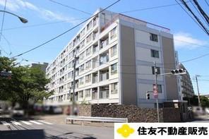 京王多摩川コーポラスの外観