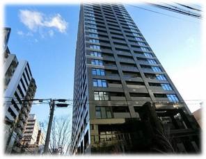 プレサンスレジェンド堺筋本町タワーの外観
