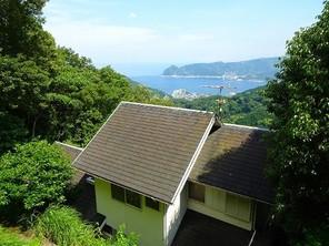 熱海自然郷 海望む、温泉権利付き!高台の売り別荘の外観