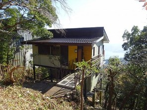 熱海自然郷 自然豊かな分譲地内に建つ、温泉権付きの一戸建の外観