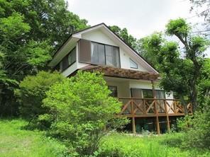 那須 別荘の外観