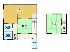 京都府京都市伏見区両替町11丁目の間取り図