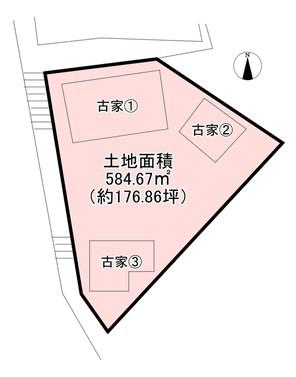 兵庫県神戸市北区鈴蘭台北町1丁目の間取り図