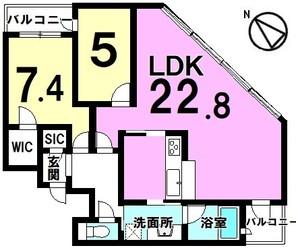 タワー・ザ・ファースト静岡の間取り図