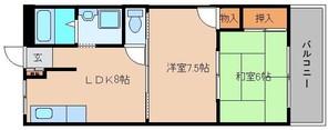 サンコーポ高田の間取り図