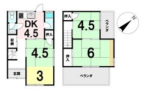 東藤江1丁目 中古戸建の間取り図