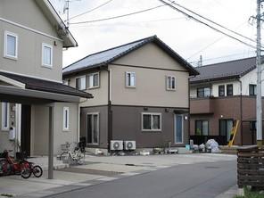 長野市篠ノ井岡田中古住宅の外観