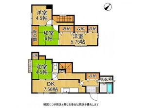 姫路市御立東2丁目 中古一戸建ての間取り図