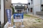 名古屋市中村区押木田町の住宅用地の外観