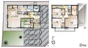 【ダイワハウス】セキュレア鶴田町VII (分譲住宅)の間取り図