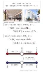 【ダイワハウス】セキュレア高槻京口町 (建築条件付宅地分譲)のその他