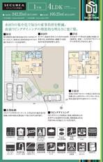 【ダイワハウス】セキュレア大分青葉台 (分譲住宅)の外観