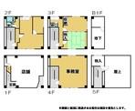 事業用ビル1棟販売の間取り図