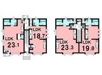 事業用 ミナミマンション(室蘭市)の間取り図