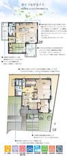 【ダイワハウス】まちなかジーヴォ総社三輪 (分譲住宅)の間取り図