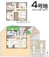 【ダイワハウス】セキュレア余戸中 (分譲住宅)の間取り図