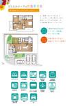 【ダイワハウス】まちなかジーヴォ熊取青葉台 (分譲住宅)の間取り図