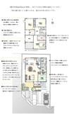 【ダイワハウス】まちなかジーヴォ水江 (分譲住宅)の間取り図