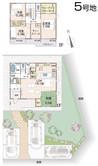 【ダイワハウス】セキュレア永井川 (分譲住宅)の間取り図