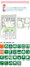 【ダイワハウス】セキュレア名島 (分譲住宅)の間取り図