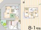 【ダイワハウス】プレシャスガーデン平 上荒川2期 (分譲住宅)の間取り図