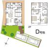 【ダイワハウス】セキュレア西久万 (分譲住宅)の間取り図