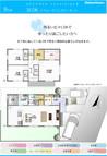 【ダイワハウス】セキュレア徳重II (分譲住宅)の間取り図