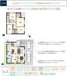 【ダイワハウス】セキュレア宮の森3-10 (分譲住宅)の間取り図