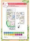 【ダイワハウス】セキュレア三島梅名 (分譲住宅)の間取り図