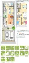 【ダイワハウス】セキュレア大口余野 (分譲住宅)の間取り図