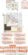 【ダイワハウス】まちなかジーヴォ野木町丸林 (分譲住宅)の間取り図