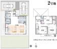 【ダイワハウス】セキュレア天川原町II (分譲住宅)の間取り図