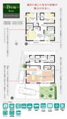 【ダイワハウス】セキュレア沼津大岡III (分譲住宅)の間取り図