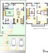 【ダイワハウス】セキュレア共和西IV (分譲住宅)の間取り図