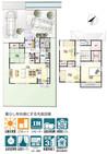 【ダイワハウス】セキュレア中島III (分譲住宅)の間取り図