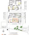 【ダイワハウス】まちなかジーヴォ佐藤3丁目 E号地(分譲住宅)の間取り図