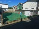 下北沢駅歩8分、代沢小エリアの南向き2階建新築戸建の間取り図