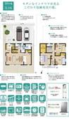 【ダイワハウス】セキュレアすみれ野 (分譲住宅)の間取り図