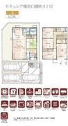 【ダイワハウス】セキュレア橿原白橿町4丁目 (分譲住宅)の間取り図