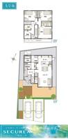 【ダイワハウス】セキュレア鴨部上町 (分譲住宅)の間取り図
