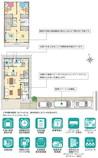 【ダイワハウス】セキュレア小牧中央 (分譲住宅)の間取り図