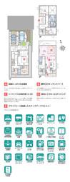 【ダイワハウス】セキュレア城南区別府 (分譲住宅)の間取り図