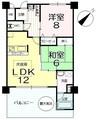 リゾートマンション マリントピア天橋立10号館の間取り図