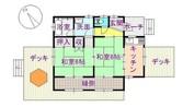 那須 別荘の間取り図