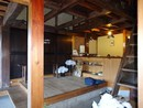 福島県西郷村 店舗兼居宅の玄関