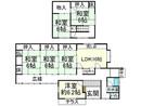 滋賀県高島市勝野の間取り図